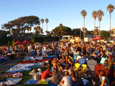Beach Blanket Movie Night